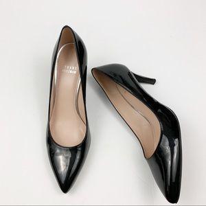 Stuart Weitzman Pumps Heel Shoes Pointed Toe Black